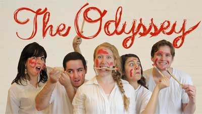 Cast members from The Odyssey