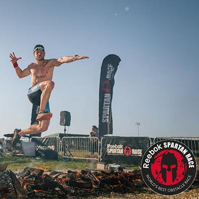 Athlete during Reebok Spartan Race