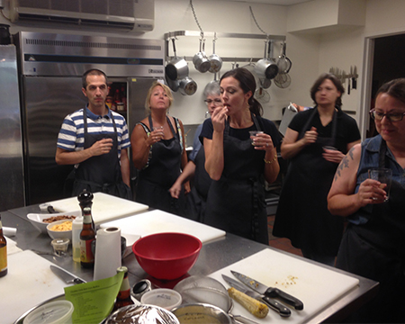 Students and Teachers Cooking with Beer