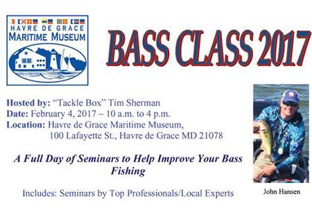 Bass Class 2017 flyer