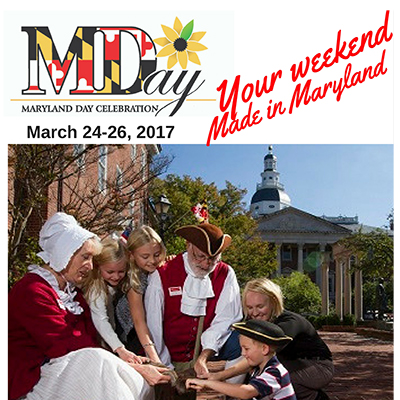 image of Maryland Day flyer