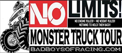 The No Limits! Monster Truck Tour poster