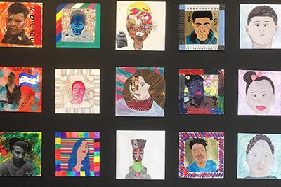 Images fromthe10x10 Portrait Show