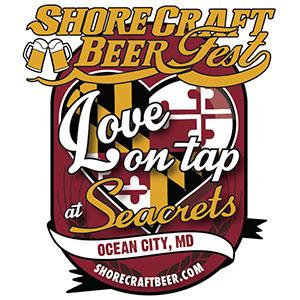 Logofor Shorecraft Beer Fest at Seacrets