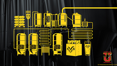 Image of beer making machinery
