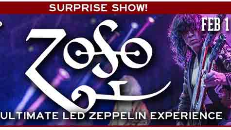 ZOSO: The Ultimate Led Zeppelin Experience poster