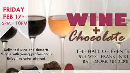 Wine + Chocolate Flyer