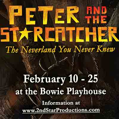 Portion of the Peter and the Starcatcher poster