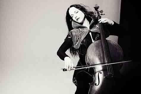 Avant-garde cello diva Maya Beiser