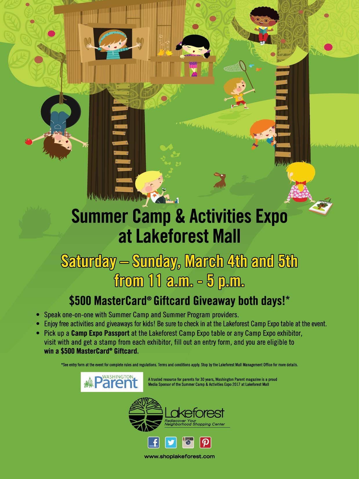 http://www.shoplakeforest.com/event/summer-camp-and-activities-expo/2145407761/