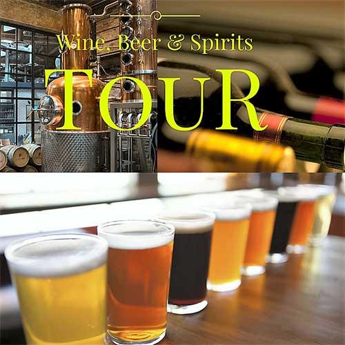 Wine, Beer, Spirits Tour: A Beverage Adventure poster