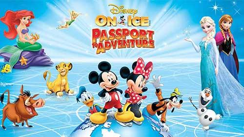 Disney On Ice Passport to Adventure poster