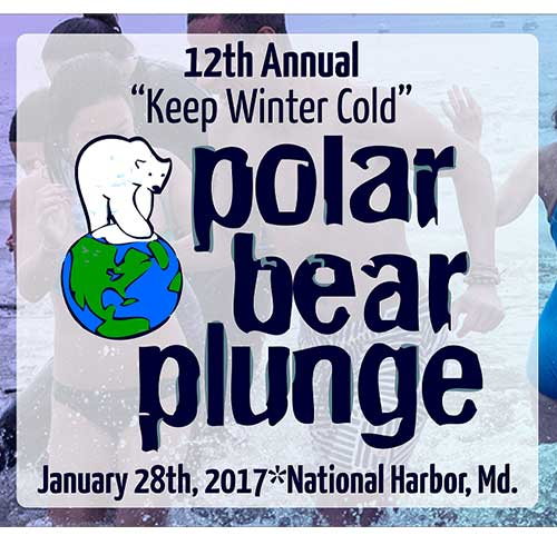 Polar Bear Plunge at National Harbor poster