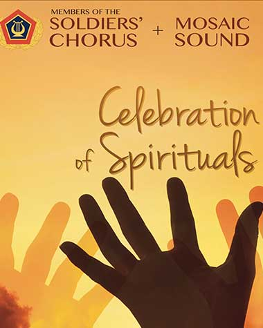 Army Field Band: Celebration of Spirituals poster