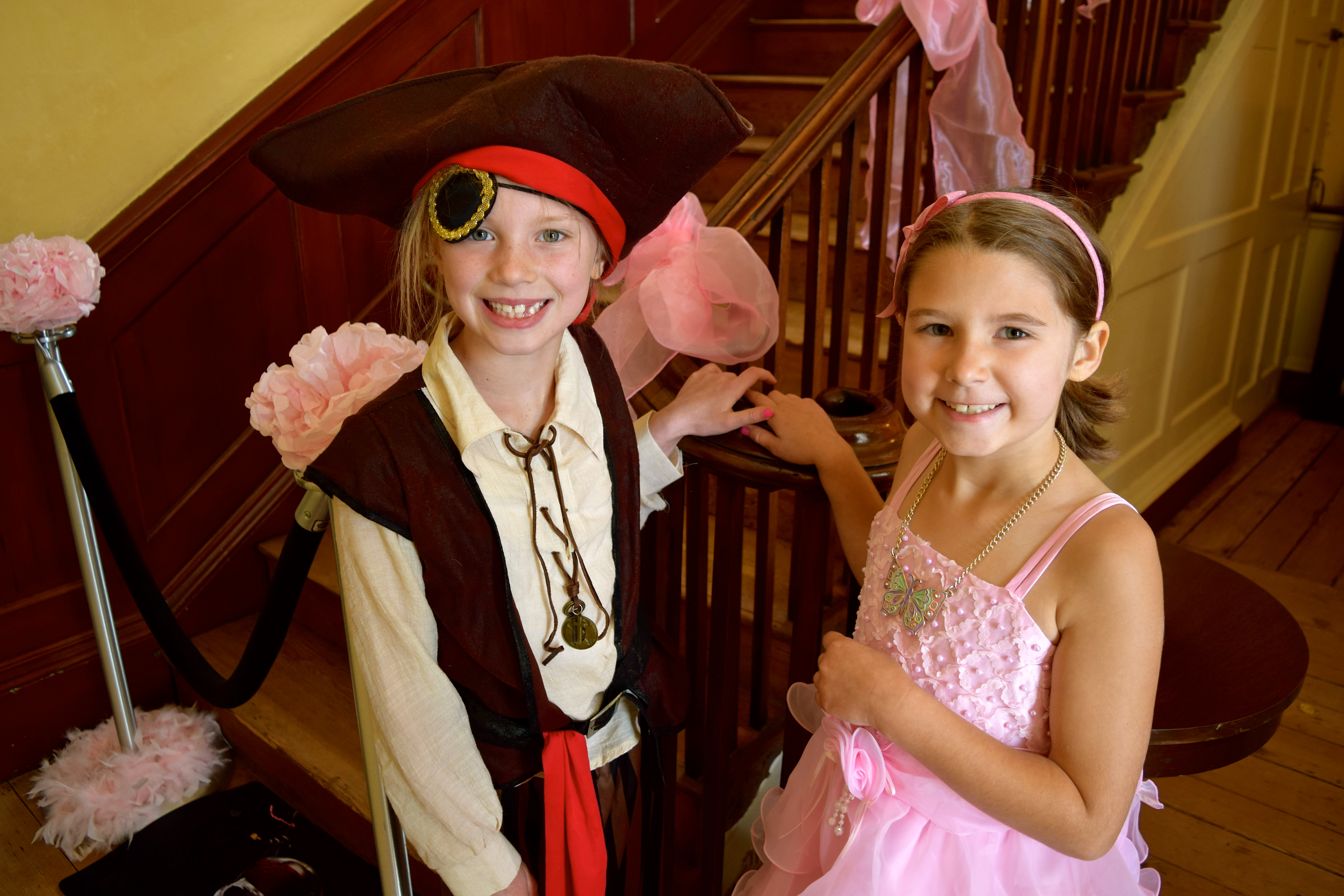 Princess and Pirate Tea Party