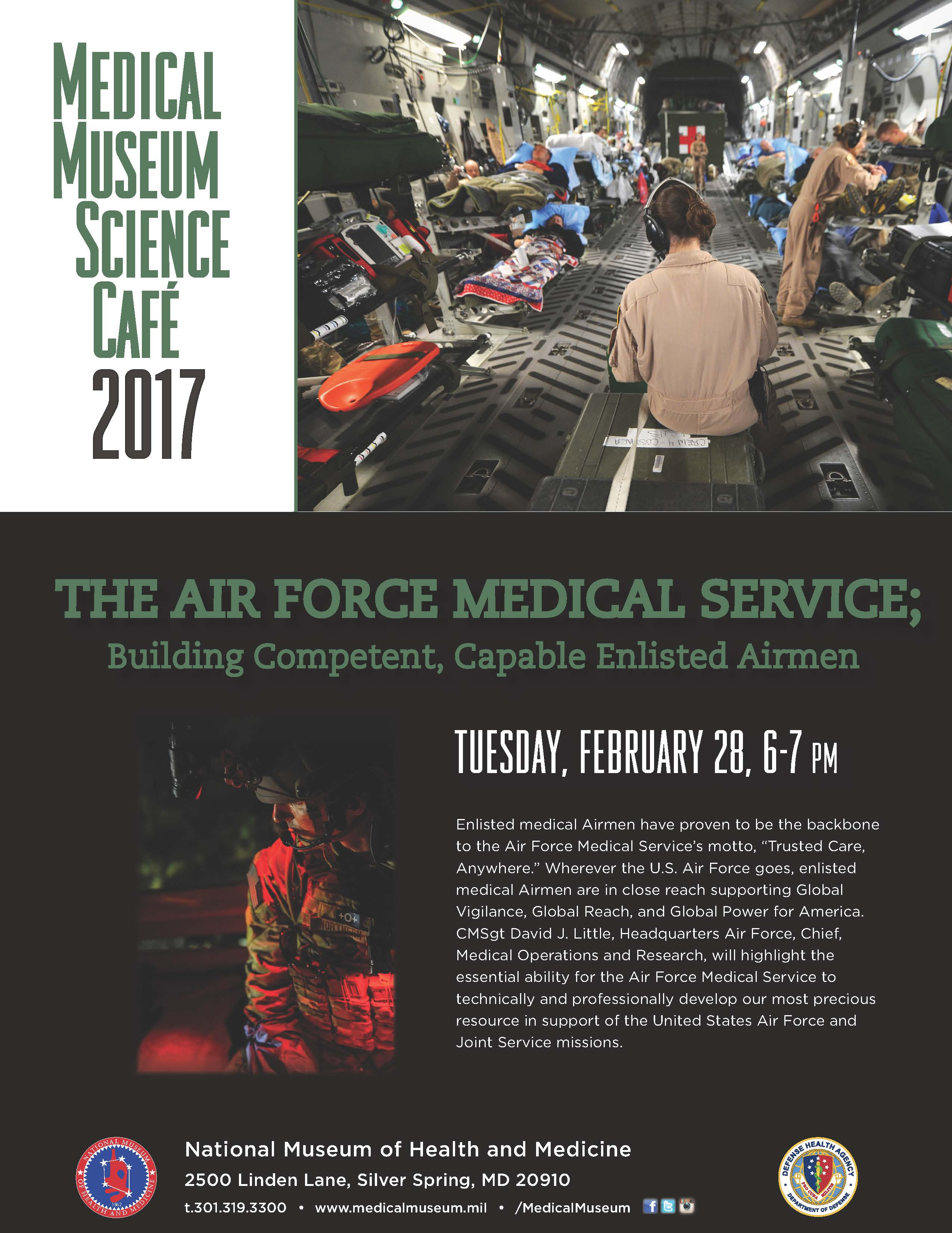 Flyer for Feb 2017 NMHM Science Cafe