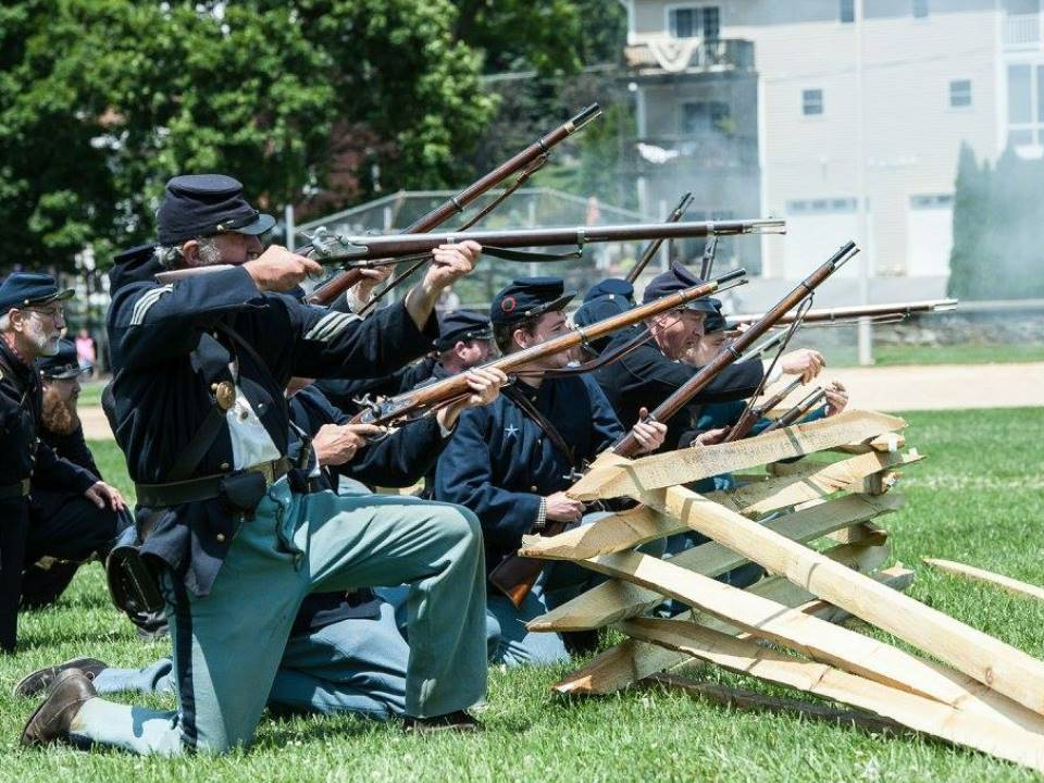 Picture from the Skirmish at the 2016 Corbit's Charge Event