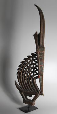 Female mask from Mali