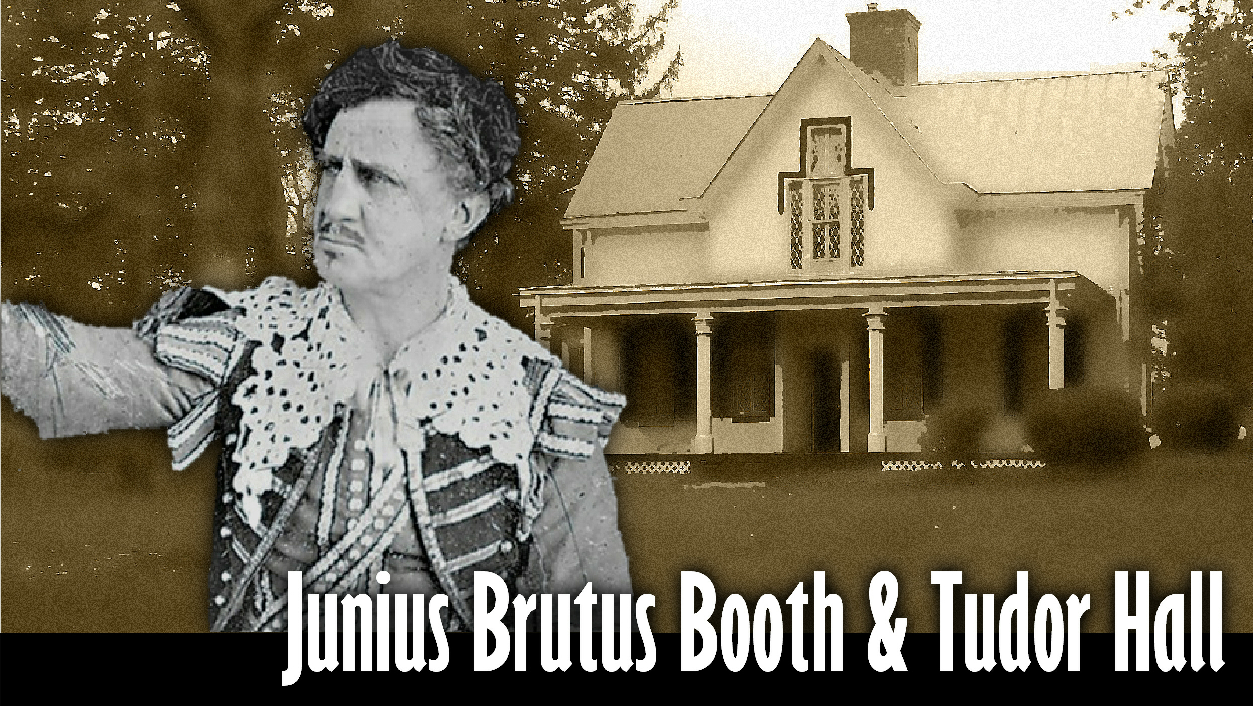 Junius Brutus Booth Sr, father of John Wilkes Booth