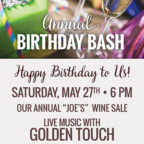 Annual Birthday Bash flyer