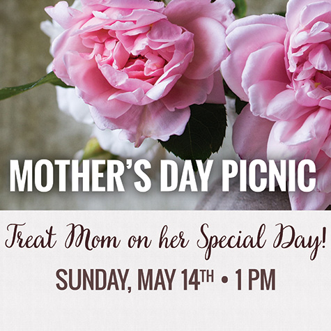 Mother's Day Picnic Lunch flyer