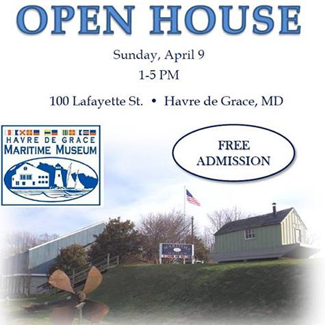 Havre de Grace Maritime Museum's Open House flyer
