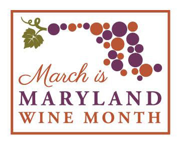 March is Maryland Wine Month flyer