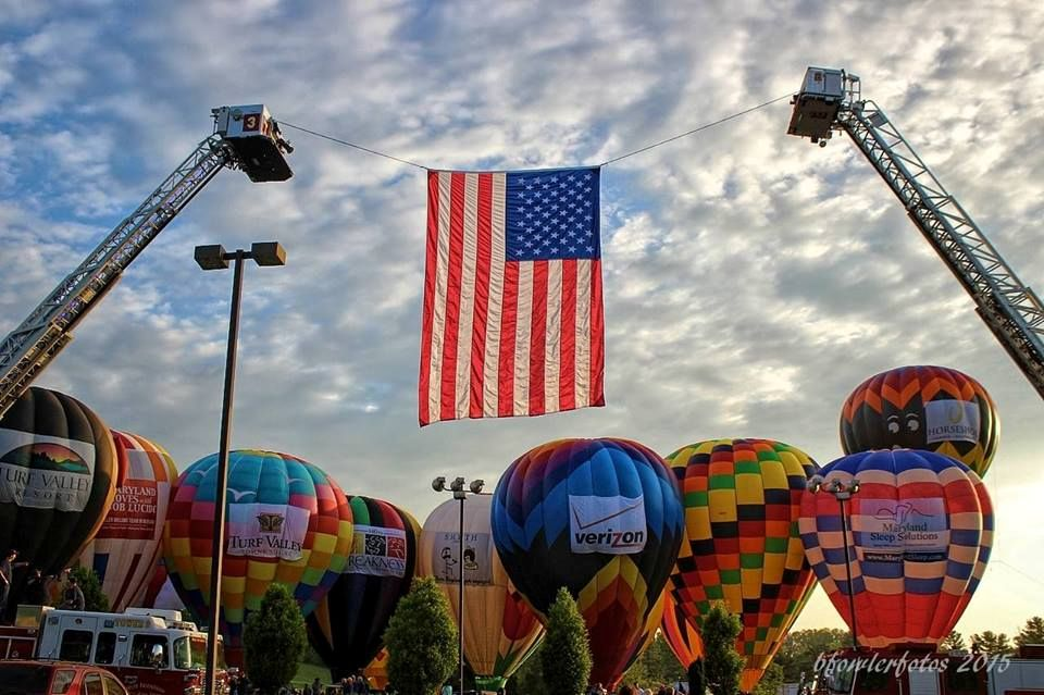 Image from the 2016 balloon festival