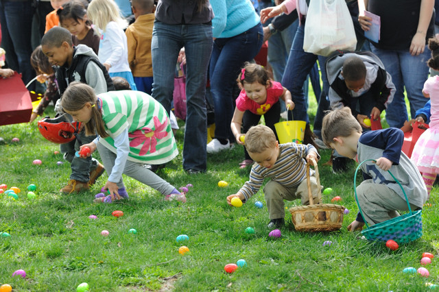 Easter egg hunt with Terrapin Adventures