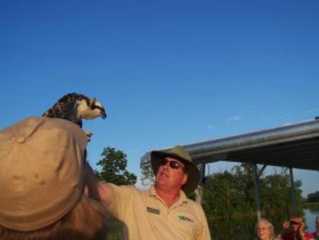 Naturalist Greg Kearns