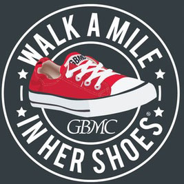 GBMC Walk A Mile In Her Shoes logo
