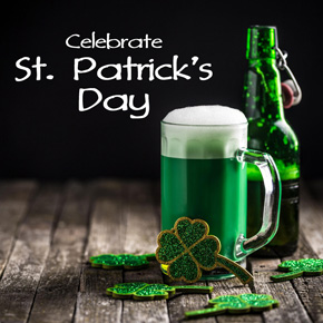 St. Patrick's Day promotional artwork