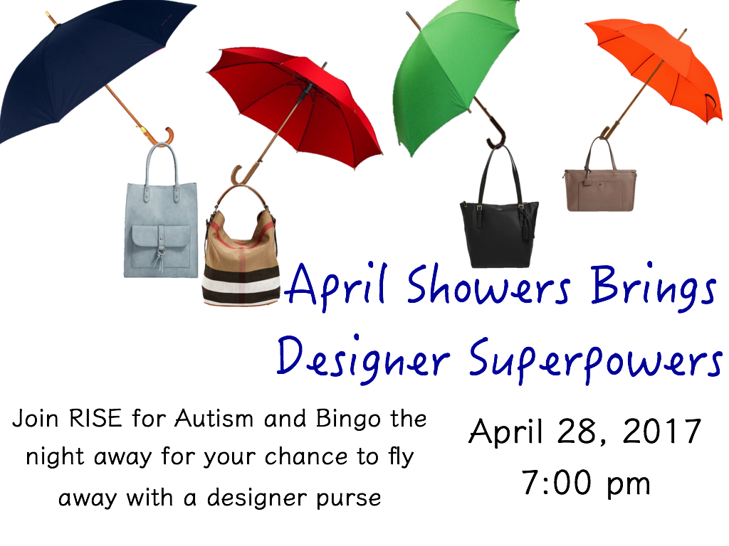 April Showers Bingo