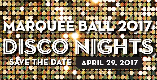 Marquee Ball Disco Nights logo