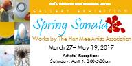 Spring Sonata works by Han Mee Artists flyer