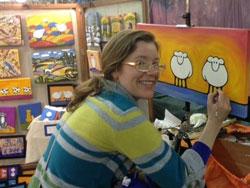 Meet the artists & watch live art demos!