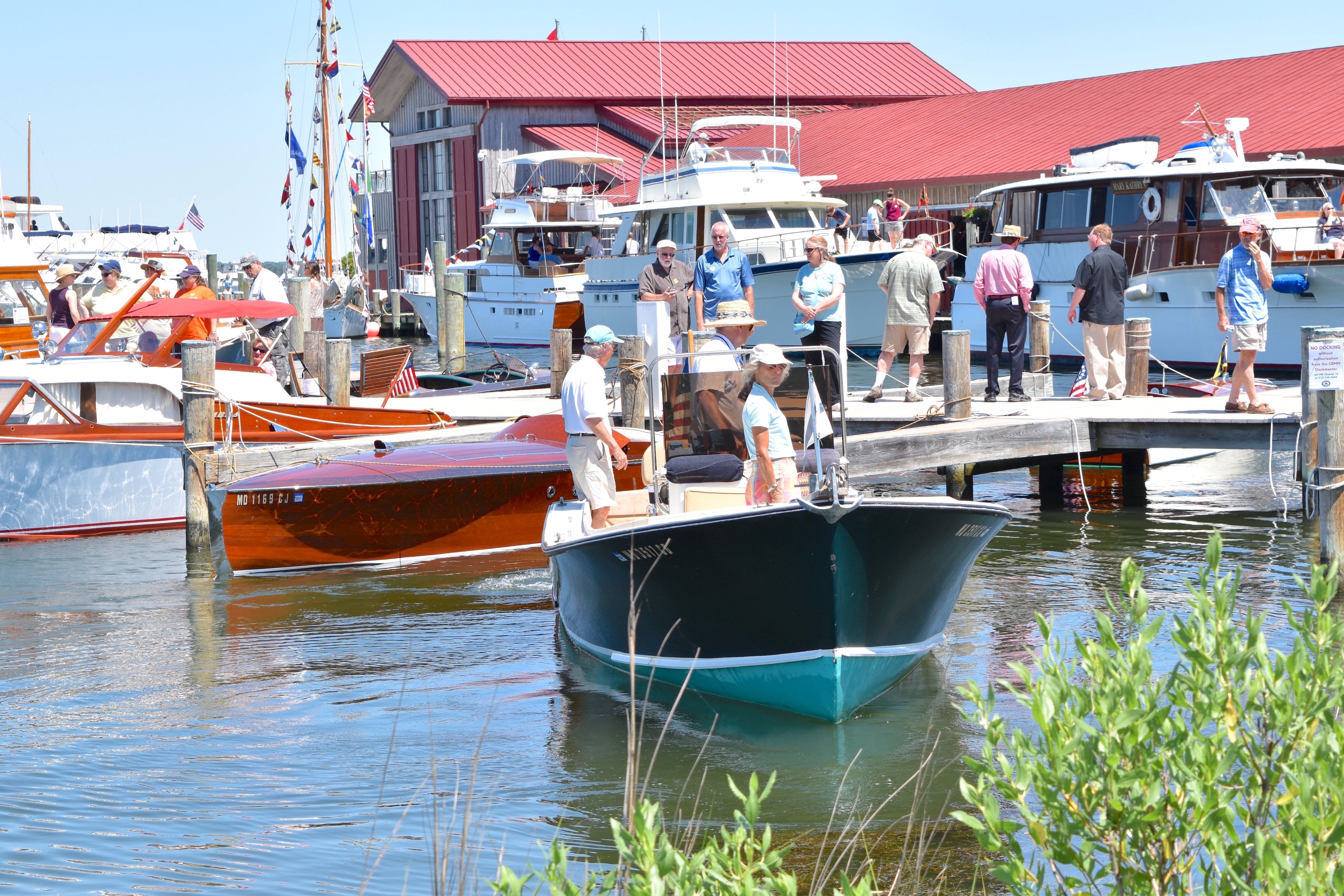 Antique & Classic Boat Festival & The Arts at Navy Point