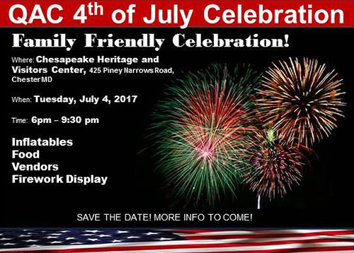QAC 4th of July Celebration poster