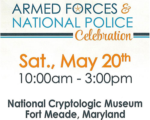 Armed Forces and National Police Celebration poster