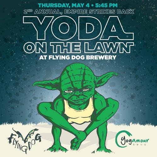 Yoda on the Lawn logo