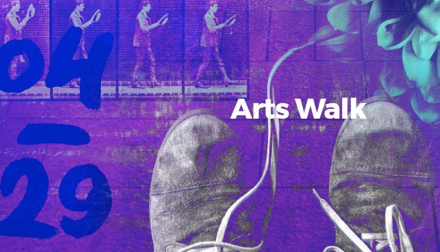 Arts Walk logo