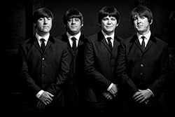 Four lads from Liverpool, The Mersey Beatles