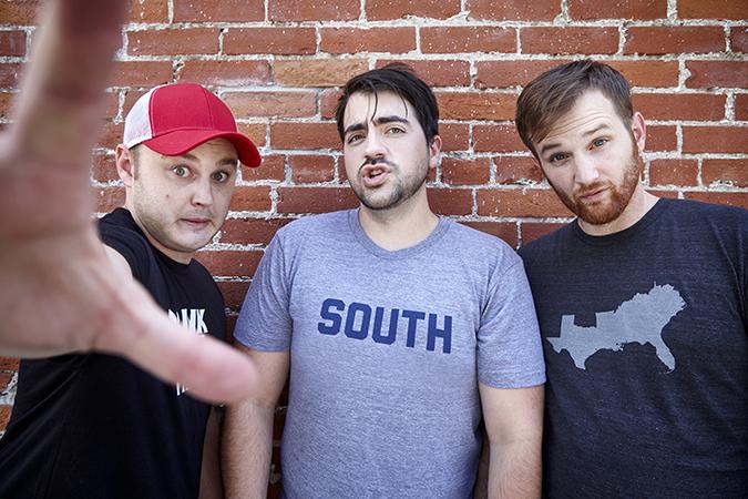 Trae Crowder, Drew Morgan, and  Corey Ryan Forrester