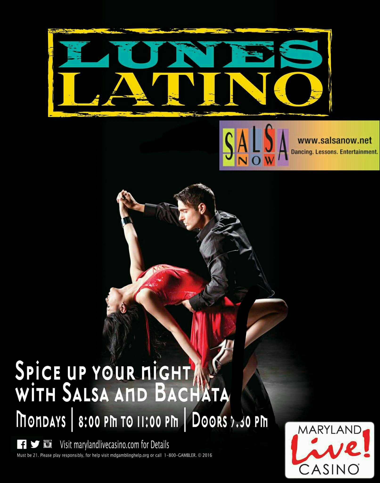 Lunes Latino Flyer