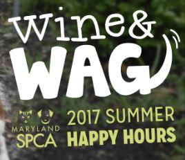 Wine & Wag Happy Hour logo