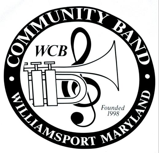 Williamsport, MD Community Band logo