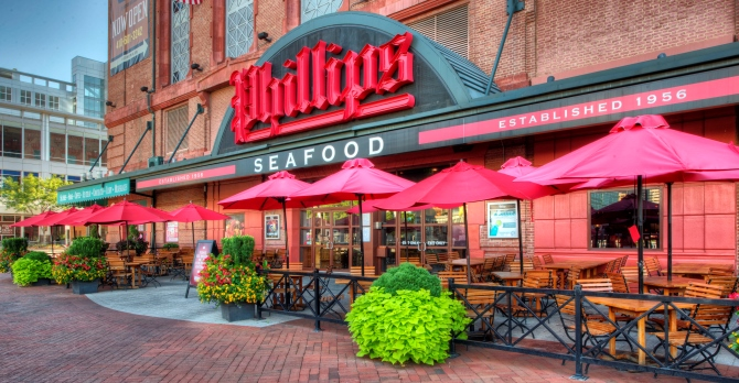 Phillips Seafood in Baltimore
