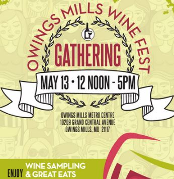 Logo for the Wine Fest Gathering at Metro Center