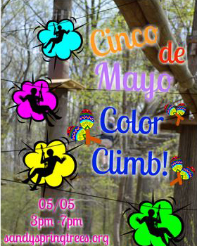 Cinco de Mayo Color Climb poster