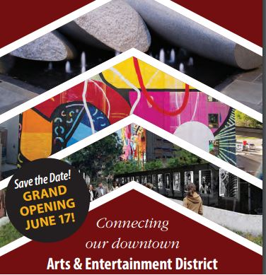 Hagerstown Cultural Trail Grand Opening Flyer
